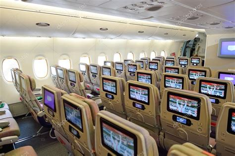 int 233 rieur de l avion airbus a380 emirates photo