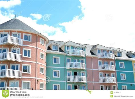 holiday appartments holiday apartments stock photo image 42165314