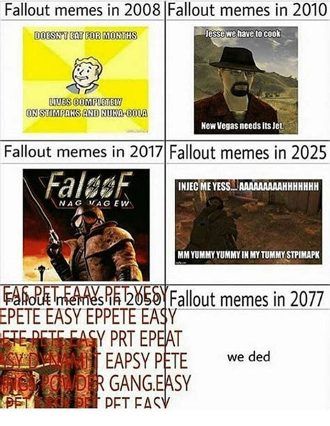 Fallout Memes - fallout memes in 2008 fallout memes in 2010 doesn t eat