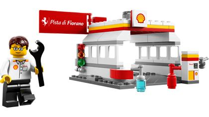 Shell Station 40195 shell station 40195 lego building