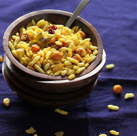 chivda savory cereal snack with dried fruits roasted