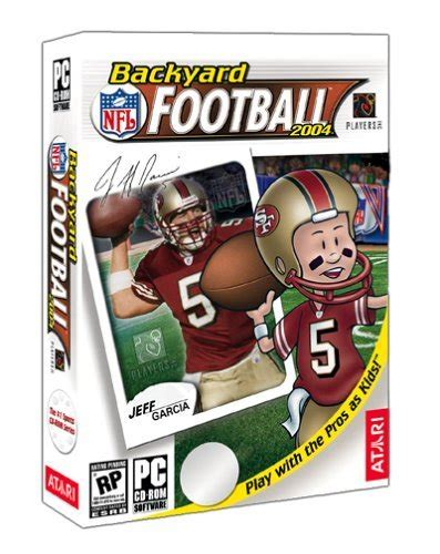 backyard football 2004 backyard football 2004 pc retail box art page