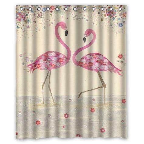 "Graceful Flamingo Custom Shower Curtain 60"" x 72"" Bathroom Decor Real Simple http://www.amazon"