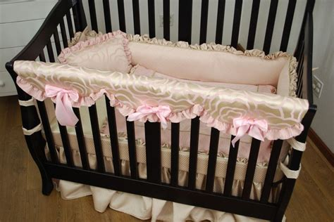 cream crib bedding girl bedding custom