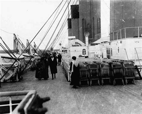 titanic first boat all things titanic the ship exterior