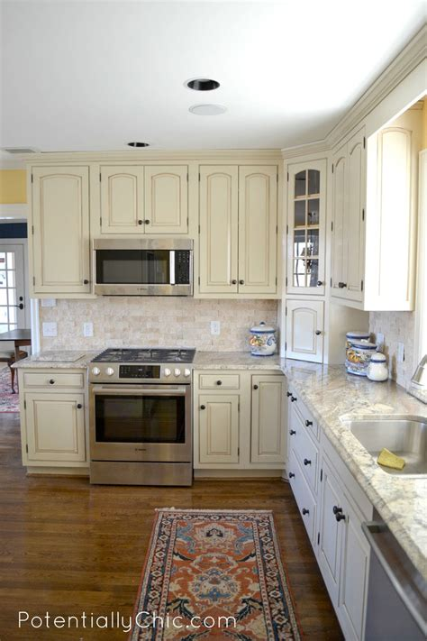 general finishes linen milk paint kitchen cabinets lighter and brighter kitchen in linen milk paint and van