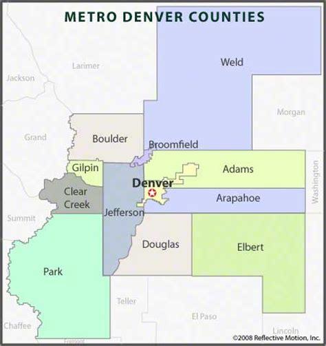Denver County Search Denver Map