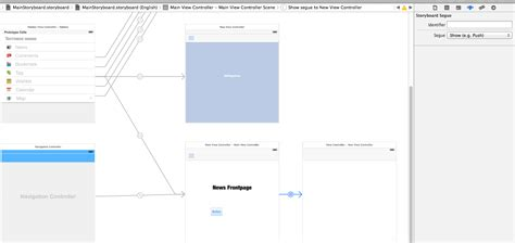 adaptive layout in xcode 6 adaptive segue in storyboard xcode 6 is push deprecated