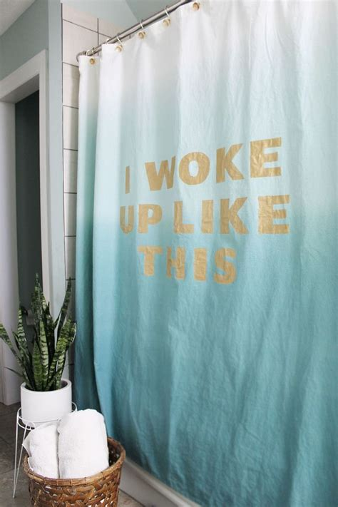 Shower Curtains I Just Like by I Woke Up Like This So I Need A Shower Make Your Own