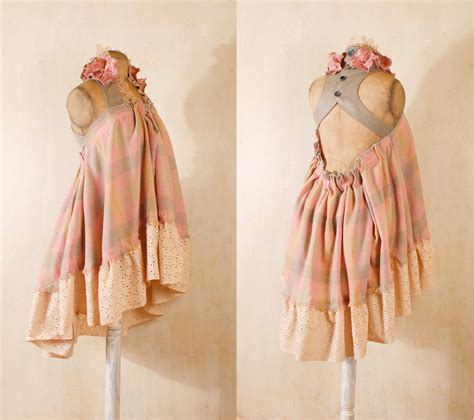 Shaby Dress shabby chic dress in pastel gingham by mynoush on deviantart