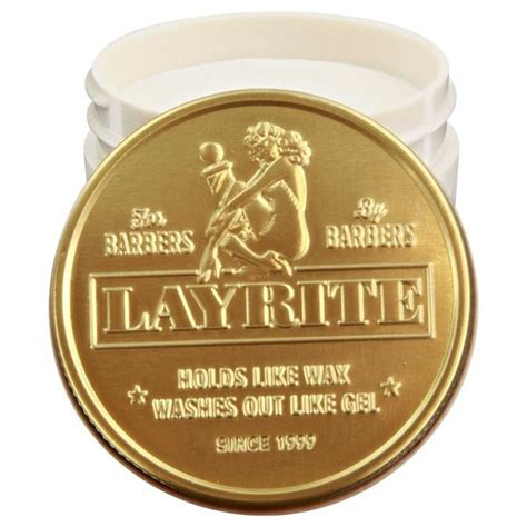 Pomade Concrete layrite cement hair clay water based clay pomade
