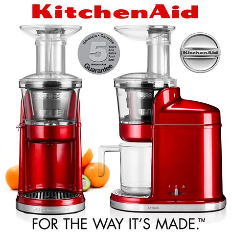 KitchenAid   Artisan Maximum Extraction Juicer   Candy Apple   KA
