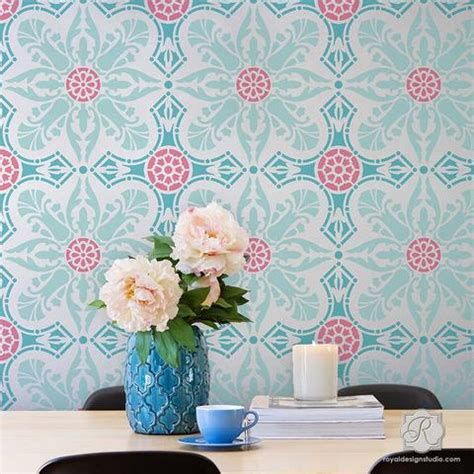 wall stencils for room damask wall stencils large wall stencils for diy