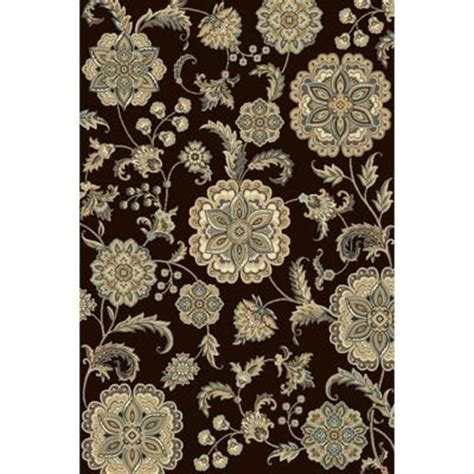 bazaar rugs at home depot home dynamix bazaar gal 2408 brown 7 ft 10 in x 10 ft 1 in area rug 1 2408 500 the home depot
