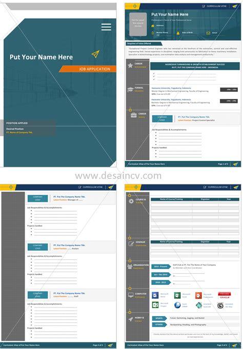 layout cv kreatif desain cv kreatif contoh surat lamaran kerja