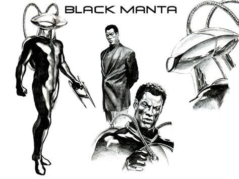 alex ross black manta by superman8193 on deviantart