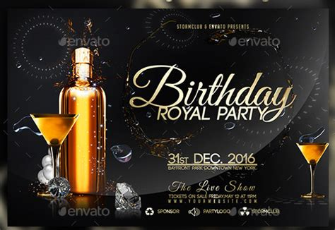 birthday flyer template birthday flyer template 31 free psd ai vector eps