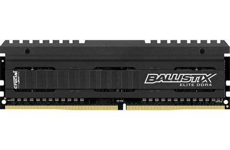 16gb ram crucial crucial announces ballistix ddr4 16gb memory modules