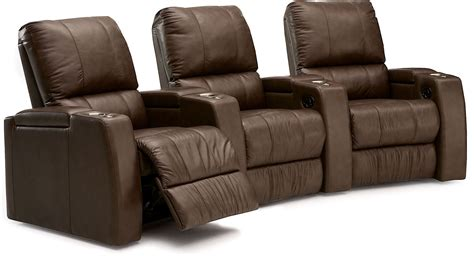 power recliner theater seats playback leather home theatre seating psr 41403 leather