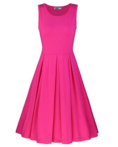 Dress Cotton Dress Import G217345 styleword s sleeveless casual cotton flare dress s import it all