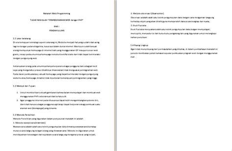 format makalah sejarah contoh makalah web programming klik contoh makalah