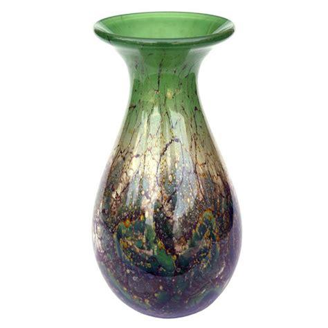 Colored Glass Vases Wmf Ikora Green Colored Glass Vase 171 Huubgeurts