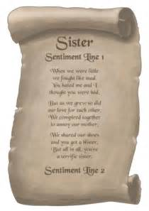 Short sister poems eclaire my baby sister goo