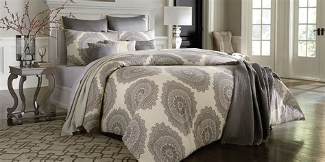 medallion comforter cannon 7 piece comforter set grey medallion home bed