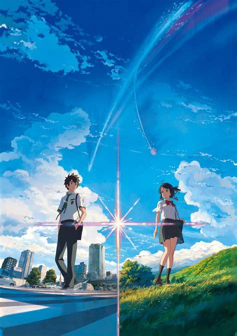anime anime girls landscape kimi no na wa