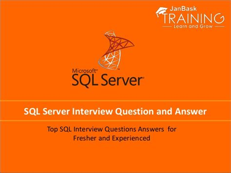 sql server interview question  answer
