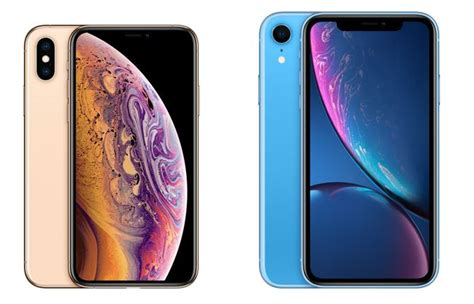 iphone xs vs iphone xr surprisingly the cheaper one is a better buy