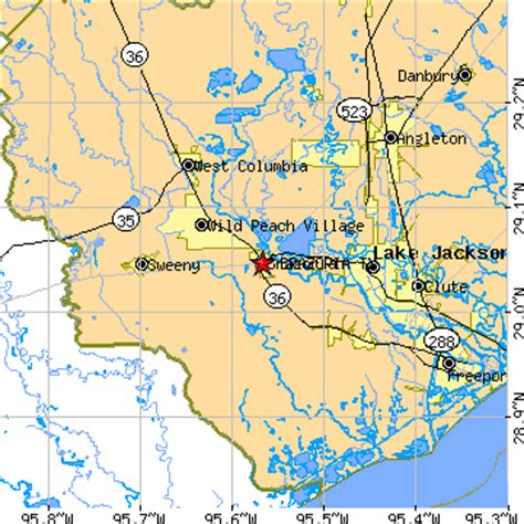 brazoria texas map brazoria texas tx population data races housing economy
