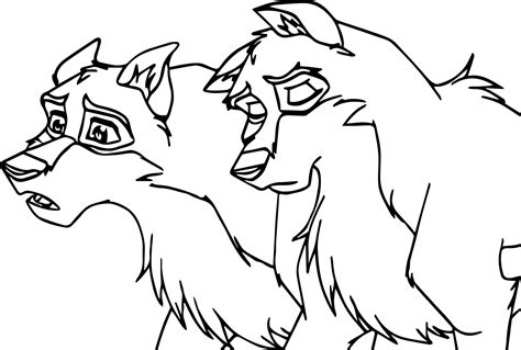 Balto And Coloring Pages