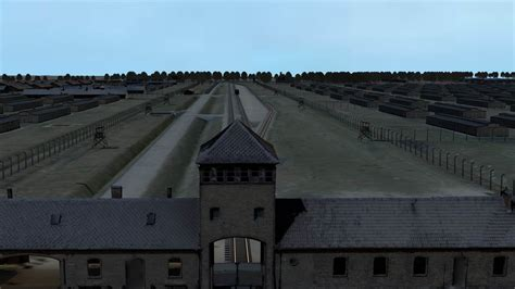 Auschwitz Records Incredibly Detailed Vr Model Of Auschwitz Helped Convict War Criminal Extremetech