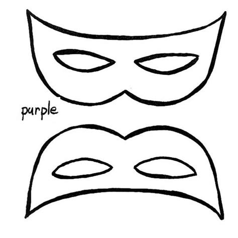 free coloring pages of white mask