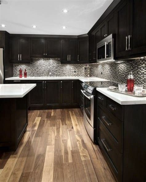 black kitchen furniture best 25 espresso kitchen cabinets ideas on