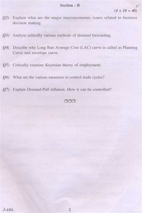 Mba Managerial Economics Questions And Answers by Mba 1st Year Managerial Economics Solved Question Paper