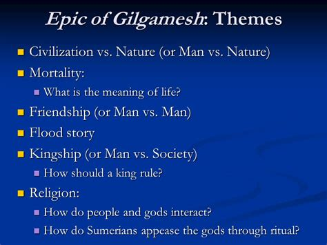 man vs nature theme in lord of the flies eng 2r the epic of gilgamesh ppt video online download