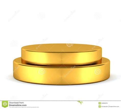 Golden Pedestal golden pedestal winner royalty free stock photos image