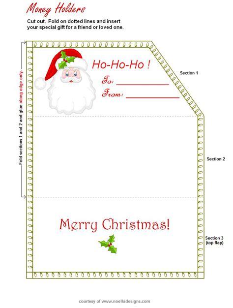 printable christmas money cards money holder http www noelladesigns com