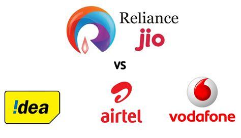 vodafone mobile number reliance jio vs airtel idea vodafone war on mobile