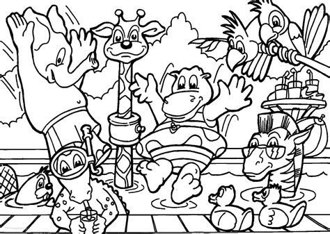 Animal Coloring Pages For Adults Bestofcoloring Com Animals Coloring Pages
