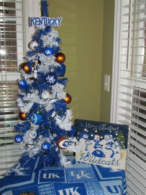 great big blue christmas tree from the university of