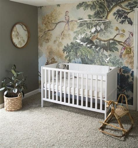 Jungle Themed Nursery Decor 15 Baby Boy Nursery Wallpapers For Inspiration Home Decor Ways