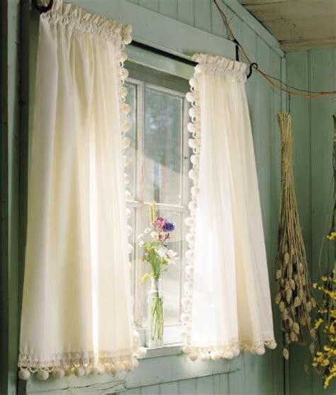 country tier curtains tier curtains classic ball fringe perma press tier
