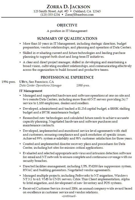 resume summary statements customer service resume