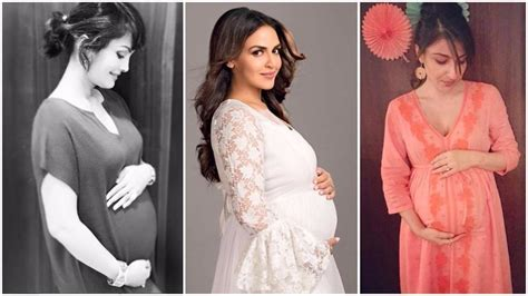 pregnancy hair style esha deol to soha ali khan best celebrity pregnancy