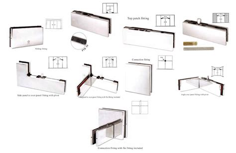 N Rich Pvt Ltd Glass Door Accessories