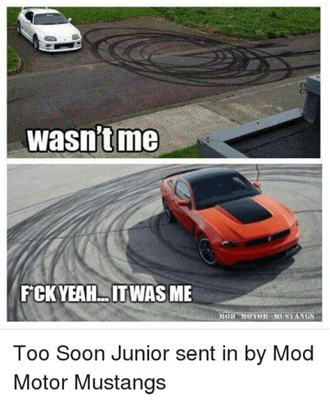 Soon Car Meme - 25 best memes about too soon junior too soon junior memes