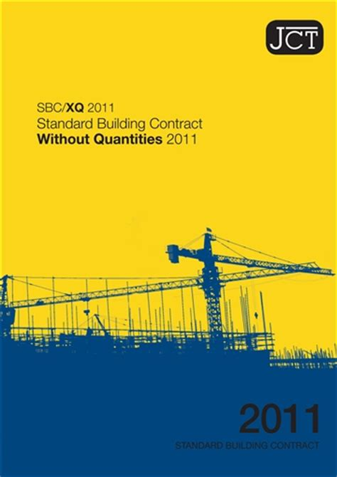 jct design and build contract revision 1 2007 standard building contract without quantities